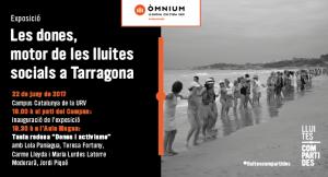 Les dones, motor de les lluites socials a Tarragona